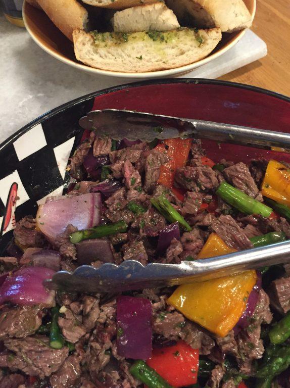 Fajita Salad with Cilantro Chimichurri 2